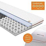 OCTASLEEP Smart Topper Matratzentopper 90x200cm mit Smart Pillow Kissen - Schlafkissen | patentierte...