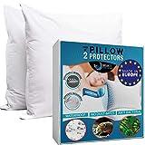 Dreamzie - Kissenbezug Wasserdichter 80 x 80 cm - 100% Baumwolle Stoff - Oeko Tex® Zertifiziert - 2...