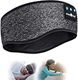 Schlafkopfhörer Bluetooth- V5.0 Sportskopfhörer Musik schlafen Stirnband Kopfhörer mit...
